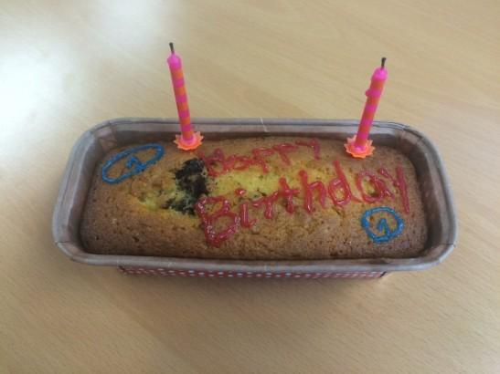 Motel One Birthday Cake