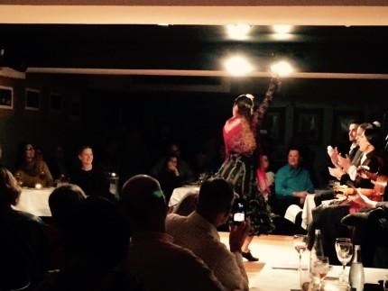 Flamenco Black & Rd