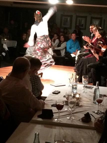 Flamenco - curling