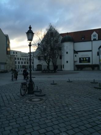 Jakobsplatz mit Stadtmuseum