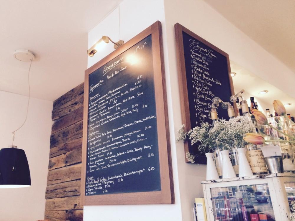 Daily menu in Bar Corso