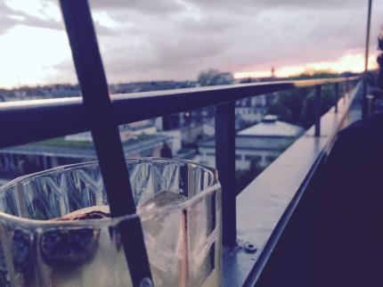 Cocktail mit Aussicht - Flushing Meadows 5.15