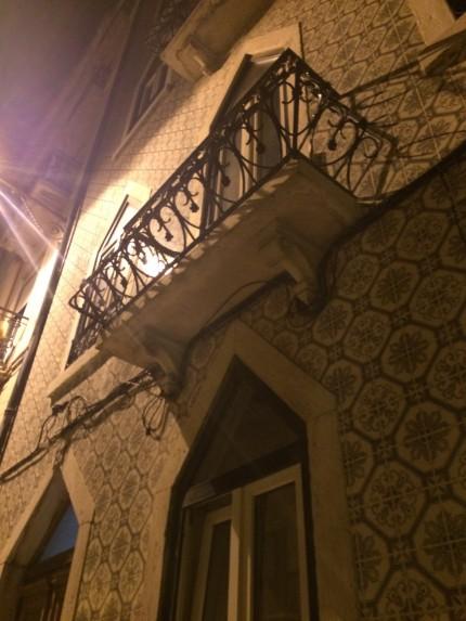Lisbon Balcony on light