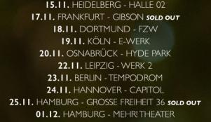 TourDaten BOY 2015
