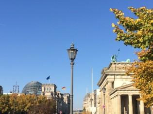 Brandenburger Tor und Reichstag, Berlin