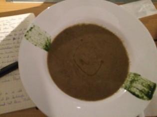 lentil soup with marons