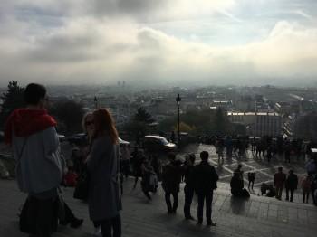 Paris viewed from Sacre Coeur