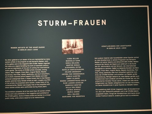 Frankfurt, Schirn, Sturm Frauen