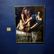 Frankfurt, Städel, Dialog der Meisterwerke - Judith & Holofernes