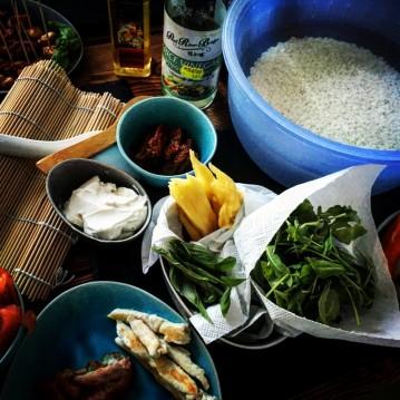 Sushi-Workshop Ingredients