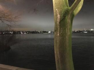 Hamburg, an der Alster