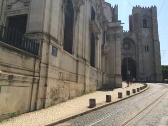 Lisbon, medieval main church St. Antony