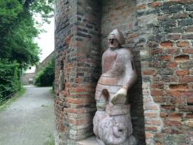 Augsburg, Steinerner Mo (Mann)