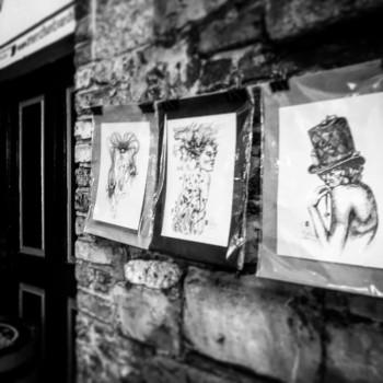 Dublin, Streets with Art