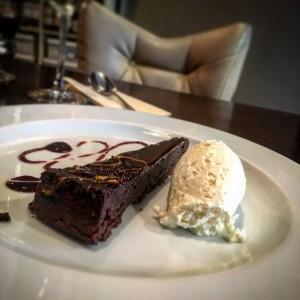 chocolate cake - the larder