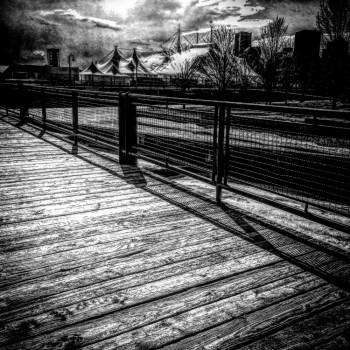 Montreal - vieux port cirque du soleil