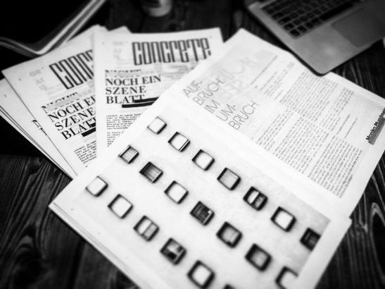 Concrete - 1. Print-Edition Print-Blog-Kunst for Munich
